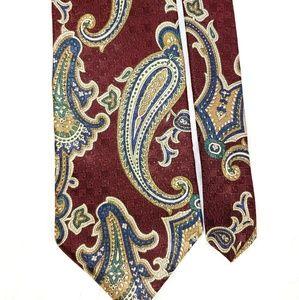 """Vintage Oak Creek Italian Silk Tie 56"""""""